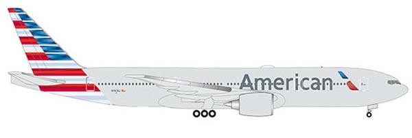 Herpa 532815 - Boeing 777-200er American Airlines