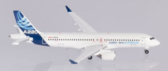 Herpa 532822 - Airbus 220-300 Airbus
