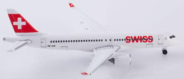 Herpa 532877 - Bombardier CS300 Swiss International