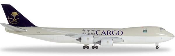 Herpa 532891 - Boeing 747-8f Saudia Cargo