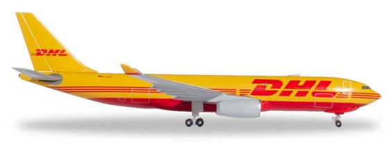 Herpa 532969 - Airbus 330-200f DHL