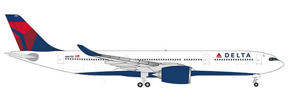 Herpa 533515 - Airbus A330-900 Neo Delta Air Lines