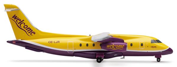 Herpa 551366 - Dornier 328 (63.75) Welcome Air