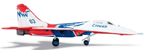 Herpa 552234 - Mig-29 (55.95) 552233-001 Russian Airforce