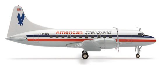 Herpa 552486 - Convair 440 (92.95) American Inter-Island