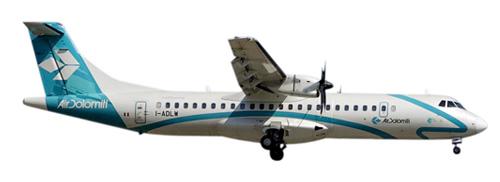 Herpa 553162 - ATR 72-500 (84.50) Air Dolomiti