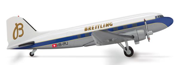Herpa 553209 - DC-3 (82.50) Breitling