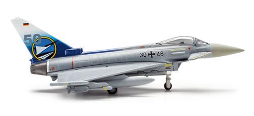 Herpa 554466 - Eurofighter Typhoon (49.95) German Air Force - 50...