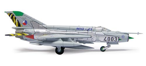 Herpa 554930 - Mig 21MF (48.50) Czech Air Force - Farewell Design