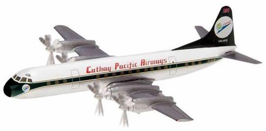 Herpa 562034 - Lockheed 188A Electra Cathay - 60th Anniversary