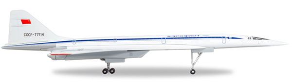 Herpa 562577 - Tupolev Tu-144d Aeroflot