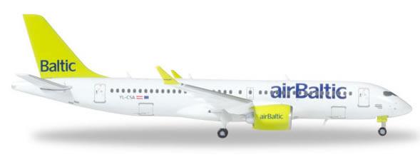 Herpa 562607 - Bombardier CS300 Air Baltic