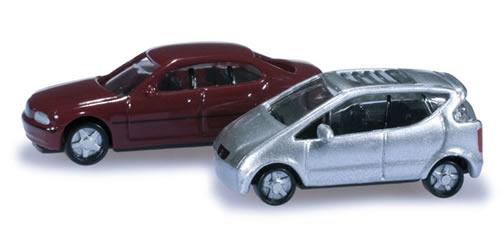 Herpa 65115 - N-track cars set (Mercedes-Benz A-Class/BMW E 46)