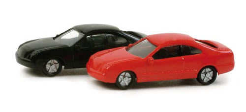 Herpa 65146 - passenger cars set Mercedes-Benz CLK Content: 2 pcs.