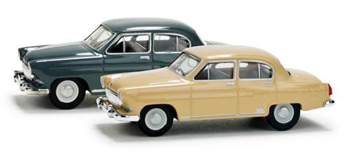 Herpa 65337 - Cars set Wolga M 21 (2 pieces)