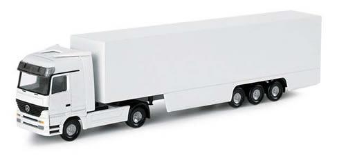 Herpa 65450 - Mercedes-Benz Actros box semitrailer