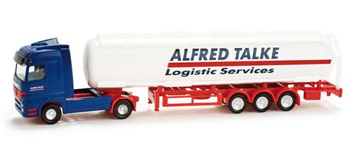 Herpa 65917 - Mercedes-Benz Actros LH tank semitrailer Talke