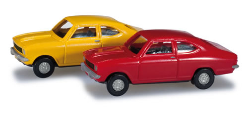 Herpa 65979 - Opel Kadett B Coupe - Set Of 2