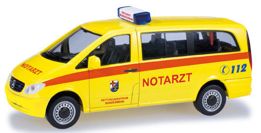 Herpa 700511 - Mercedes Vito Emergency German Army