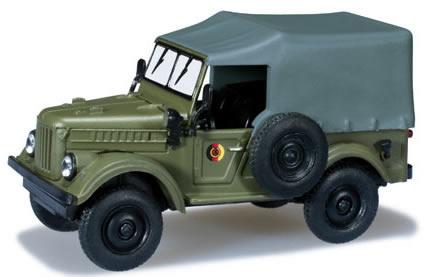 Herpa 700573 - Gaz 69 East German Army