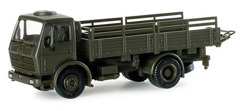 Herpa 740098 - Mercedes 5t Straight Truck German Army