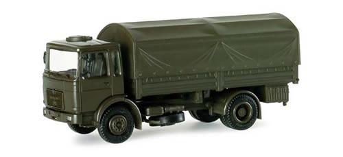 Herpa 740111 - MAN Round Canvas German Army