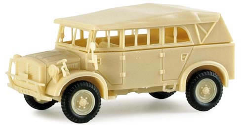 Herpa 740333 - heavy-armored vehicle Type 40 (undecorated)