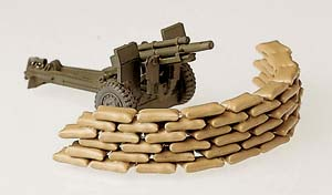 Herpa 740616 - 70 Sand Bags, Gun Not Included 542 Accessories