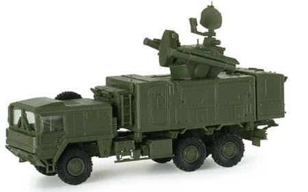 Herpa 740692 - Mobile Radar Truck, Roland Type 650 German Army