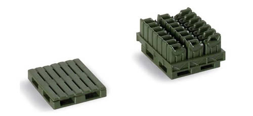 Herpa 742108 - Pallets And Jerry Cans 422 Accessories