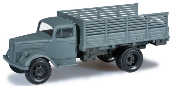 Herpa 744744 - Opel Blitz Truck With Side Boards