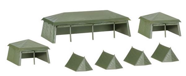 Herpa 745826 - Tents (7)