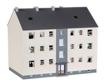 Herpa 746304 - Barracks Kit 18CM W X 11.5 D X 15.5 H