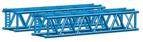 Herpa 76616 - 2 Pieces L-Boom For Crane Felbermayr