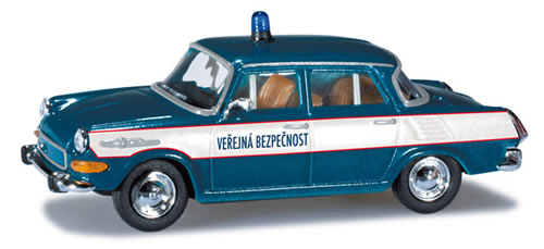 Herpa 90209 - Skoda 1000MB (24.50) Czech Police