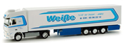 DAF XF 105 SSC Reefer Semi (42.25) Weisse Berlin