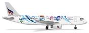 Airbus 320 Bangkok Air - Mahamongkoi