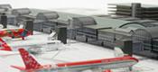 Airport Departure Building