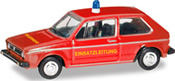 VW Golf Fire Dept