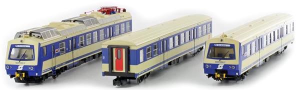 Jagerndorfer JC11902 - Austrian Electric Railcar 4020.17 of the OBB (Sound Decoder)