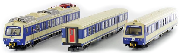 Jagerndorfer JC11922 - Austrian Electric Railcar 4020.081 of the OBB (Sound Decoder)