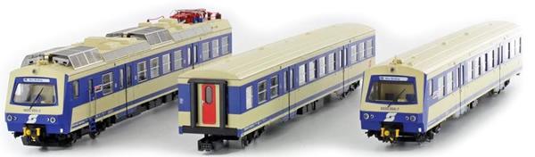 Jagerndorfer JC11932 - Austrian Electric Railcar 4020.055 of the OBB (Sound Decoder)
