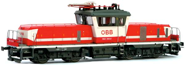 Jagerndorfer JC14640 - Austrian Electric Locomotive 1163.012 of the OBB