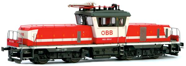Jagerndorfer JC14642 - Austrian Electric Locomotive 1163.012 of the OBB (Sound Decoder)