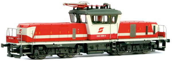 Jagerndorfer JC14650 - Austrian Electric Locomotive Class 1163.008 of the OBB