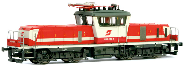 Jagerndorfer JC14652 - Austrian Electric Locomotive Class 1163.008 of the OBB (Sound Decoder)