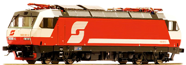Jagerndorfer JC15852 - Austrian Electric Locomotive Class 1822.001 of the OBB (Sound Decoder)