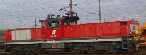 Jagerndorfer JC16512 - Austrian Electric Locomotive 1064.009 of the OBB (Sound Decoder)