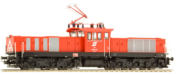 Jagerndorfer JC16550 - Austrian Electric Locomotive Series 1064.02 of the OBB