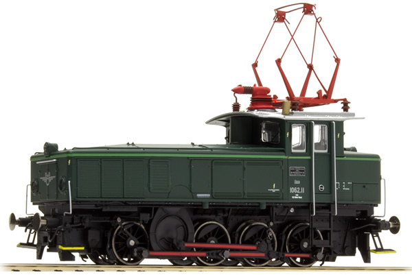 Jagerndorfer JC16732 - Austrian Electric Locomotive Series 1062.11 of the OBB (Sound Decoder)